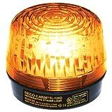 Seco-Larm Enforcer Xenon Strobe Light, 12VDC, Amber Lens
