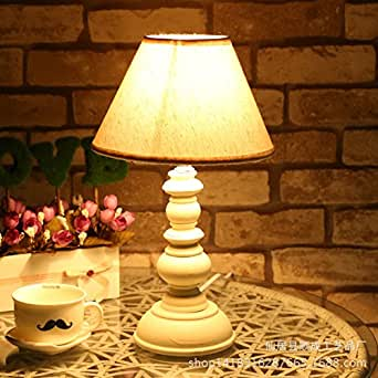 Ddl White Bedroom Bedside Lamp Study Rooms Living Room Table Lamp