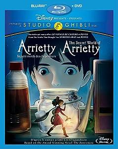Arrietty, le petit monde des chapardeurs - The Secret World of Arrietty (Bilingual) [Blu-ray + DVD]