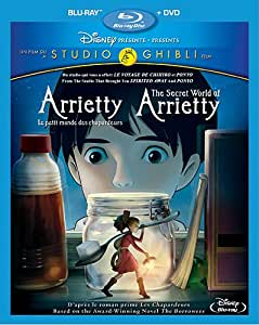Arrietty, le petit monde des chapardeurs - The Secret World of Arrietty (Bilingual) [Blu-ray + DVD]