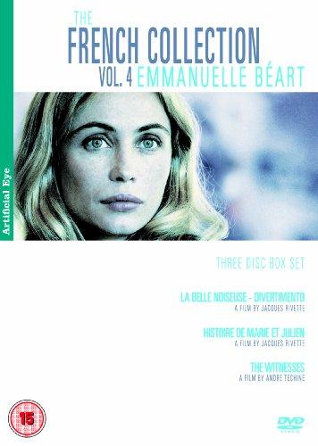 The French Collection: Vol. 4 - Emmanuel Beart - 3-Dvd Box Set ( La Belle Noiseuse - Divertmento / Histoire De Marie Et Julien / Les Temoins ) ( [ Non-Usa Format, Pal, Reg.2 Import - United Kingdom ]