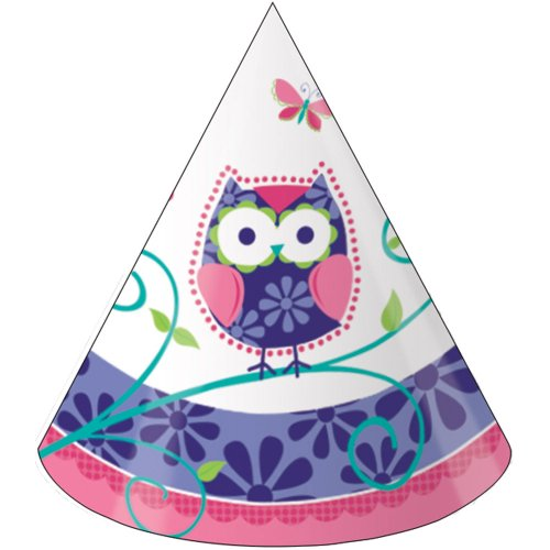 Owl Pal Birthday Party Hats - 1
