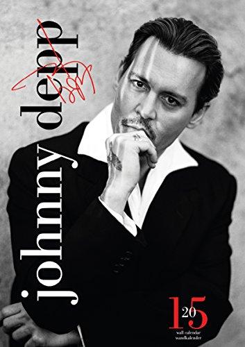 Johnny Depp 2015 Calendar - Johnny Depp