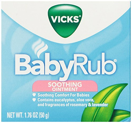 Vicks Babyrub Soothing Ointment 1.76 oz (Pack of 3) - 1
