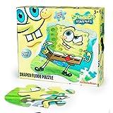 Nickelodeon SpongeBob Shaped Floor Puzzl...