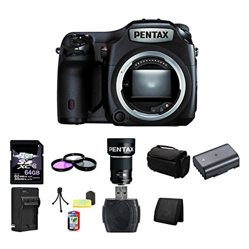 Pentax 645Z Medium Format DSLR Camera  128GB Bundle 2