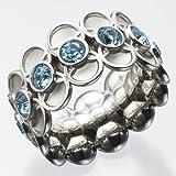 スウォッチ・ビジュー(swatch bijoux) リング(グリント・モーメンツ・リング) レディス 【ブルー/9】