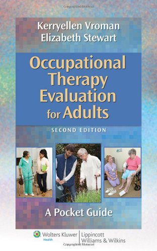 Occupational Therapy Evaluation For Adults: A Pocket Guide (Point (Lippincott Williams & Wilkins)) front-1025440