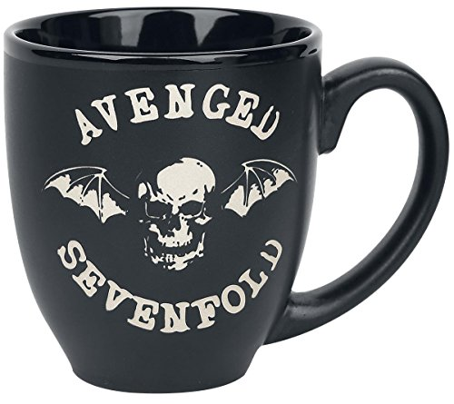 Avenged Sevenfold Deathbat Matt Engraved Mug