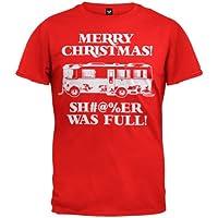National Lampoon's Christmas Vacation Shitter Was Full Mens T-Shirt