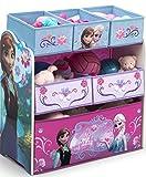Eiskönigin Regal Aufbewahrungsregal Kinderregal Spielzeugkiste Disney Frozen Anna Elsa 84986FZ