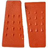 5.5 Inch Felling Wedge Chain Saw Logging Supplies Set of 2