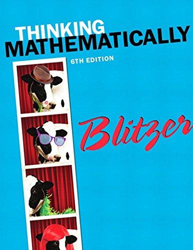 321867327 thinking mathematically 6th edition
