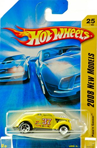 Hot Wheels 2008 025 25 New Models Yellow Pass'n Gasser
