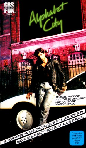 Alphabet City [VHS]