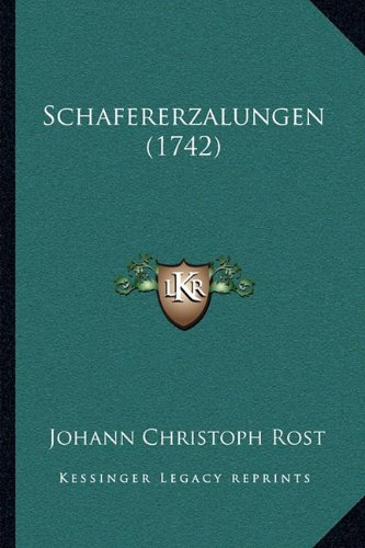 Schafererzalungen (1742)