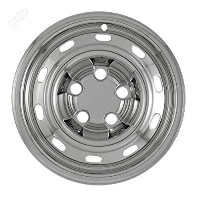 Coast To Coast IWCIMP61X 17 Inch Chrome Wheelskins With St - Pack Of 4