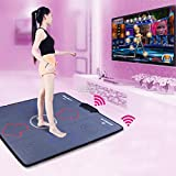 Dance Dance Revolution Dance Pads USB HD Wireless Single Hand Dance Mat Dual-purpose Massage Slimming Dance Machine for PC/ TV/ PS2/ PS1/ Wii/ Xbox