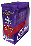 CADBURY Fruit & Nut Milk Chocolate Bar (3.5-Ounce, Pack of 14)