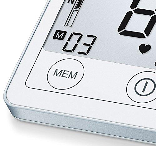 Sanitas SBM 50 Blutdruckmessgerät Oberarm, Weiß-Silber - 5