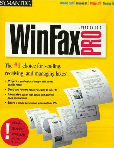WinFax Pro 10.0 Upgrade