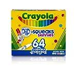 Crayola 64 Ct Washable Markers, (58-8...