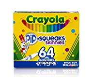 Crayola 64 Ct Washable Markers, (58-8…