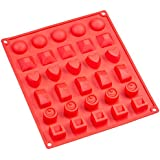 Sorbus® 30-Cavity Silicone Mold for Chocolate, Jelly and Candy