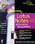 Foundations of Lotus Notes 4 Applicat...