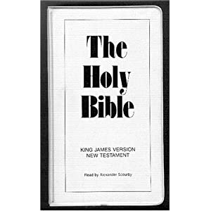 Holy Bible On Cassette (King James Version) Alexander Scourby