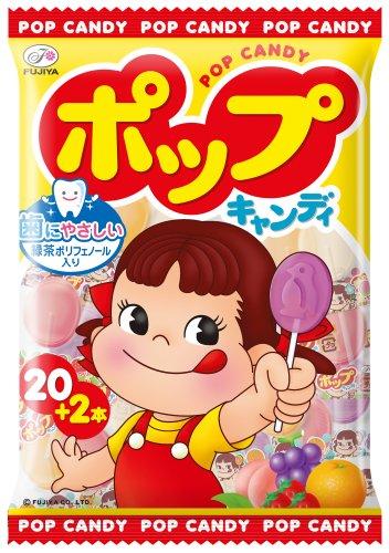 不二家 ポップキャンディ 22本×6個