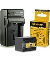Chargeur + Batterie BP-727 BP727 pour Canon LEGRIA HF M52 | HF M56 | HF M506 | HF R36 | HF R37 | HF R38 | HF R46 | HF R47 | HF R48 | HF R306 | HF R406 - Canon VIXIA HF M50 | HF M52 | HF M500 | HF R30 | HF R32 | HF R40 | HF R42 | HF R300 | HF R400 et bien plus encore... [ Li-ion; 2400mAh; 3.6V ]