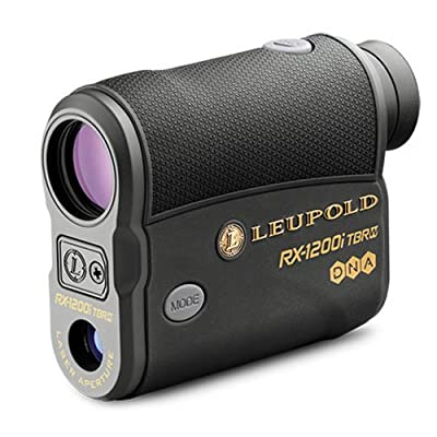 Leupold RX-1200i TBR/W with DNA Digital Laser Rangefinder - Black/Gray from Dreme Corp