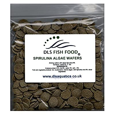 RePackaged Spirulina Algae Wafers Catfish Pleco Plec Fish Food 200g