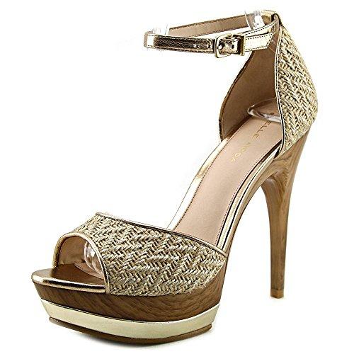 Pelle Moda Jessa Femmes Toile Sandales Compensés