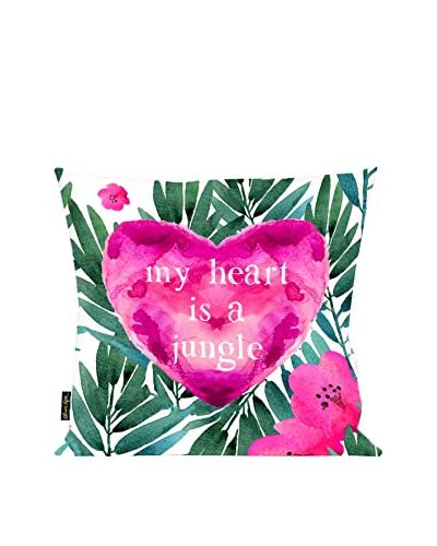 Oliver Gal Jungle Heart 18 Pillow