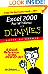 Excel 2000 for Windows For Dummies: Q...