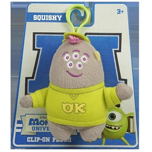 Monsters University Little Friends Clip On (Squishy) - 1