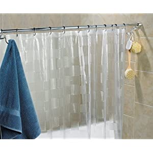 chrome adjustable shower curtain rods