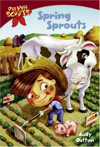 Image of Pee Wee Scouts: Spring Sprouts (A Stepping Stone Book(TM))