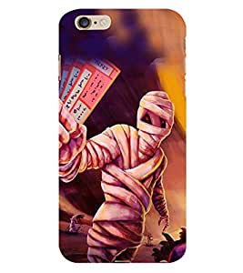HiFi Designer Phone Back Case Cover Apple iPhone 6 :: Apple iPhone6 ( Mummy Egypt Pyramid Scary Tickets )