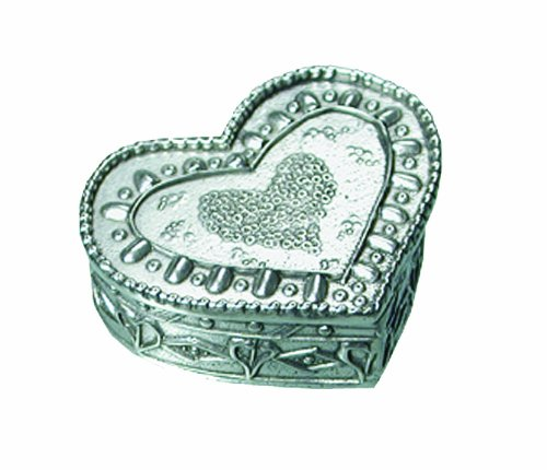 Crosby & Taylor Pewter Heart Box, Large