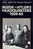 img - for Inside Hitler's Headquarters book / textbook / text book