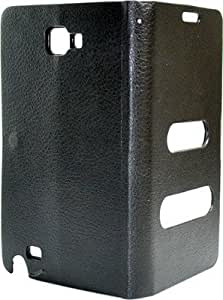 Caso Table Talk Caller Id Black Flip Case For Samsung Galaxy Note i9220