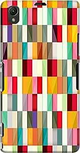 DailyObjects Stripes Case For Sony Xperia Z1