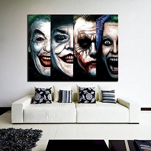 Poster Mural DC Comic Joker Pop Art Movie Batman 40x53 inch (100x133 cm) Adhe...