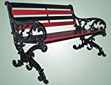 castiron bench barden Chair seat swing seat for 3 seater