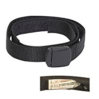 Travelon Security Friendly Money Belt Black Med 34