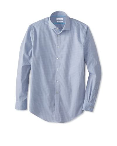 Calvin Klein Men's Non-Iron Slim Fit Dress Shirt