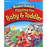 Reader Rabbit Playtime for Baby & Toddler  [OLD VERSION] ~ The Learning Company